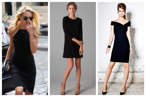 Her Zaman Kurtarıcı Siyah Elbiseler