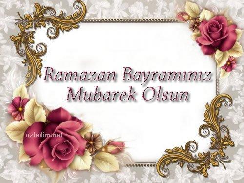 Ramazan Bayramı Kutlama Kartları