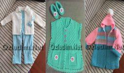 El Örgüsü Bebek Kıyafetlerinde  Bahar Trendi