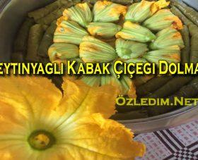 Zeytinyağlı Kabak Çiçeği Dolması Sofraya Bahar Geldi
