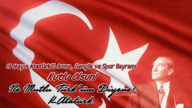 19 mayıs Atatürkü anma kutlama kartları