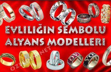 Evliliğin Sembolu Alyans Modelleri
