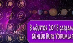 8 Ağustos 2018 Çarşamba Günlük Burç Yorumları Günlük Burçlar