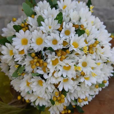 daisy gelin buketi papatya gelin çiçeği