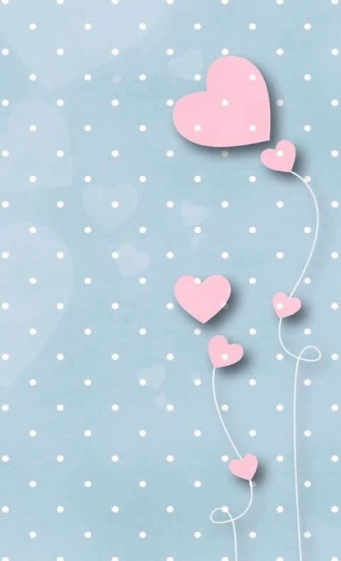 pink hearts whatsapp wallpaper pembe kalpli arka plan