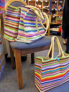 yazlık örgü çanta modelleri