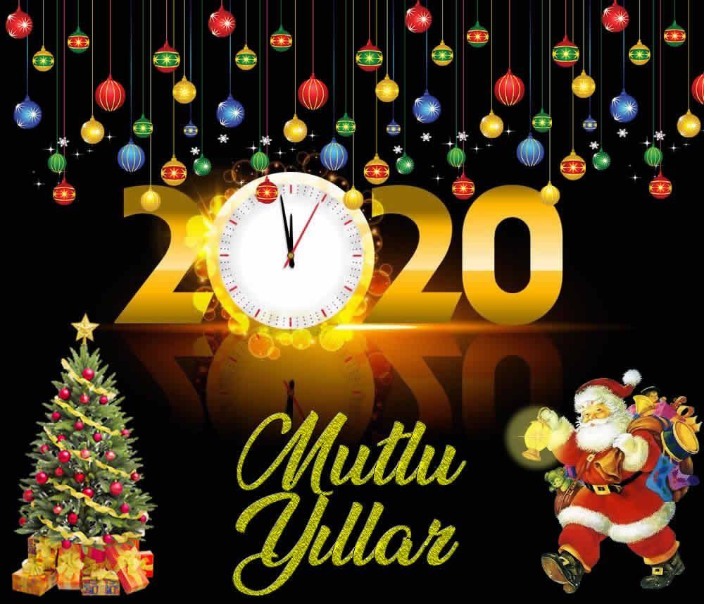 Yep yeni yeni yıl kartı