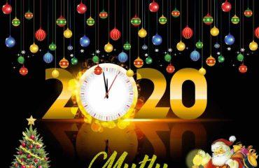 2020 Yeni Yıl Kutlama Kartları